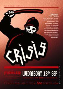 Crisis LIVE at Subterania, London