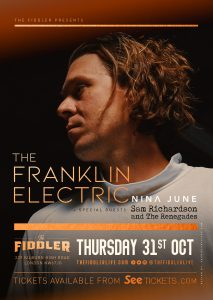The Franklin Electric + special guests LIVE at Subterania, London