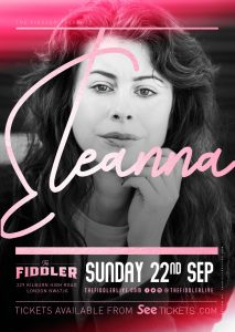 Eleanna LIVE at Subterania, London