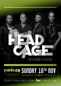 Head Cage LIVE at Subterania, London