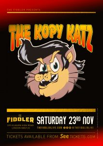 The Kopy Katz LIVE at Subterania, London