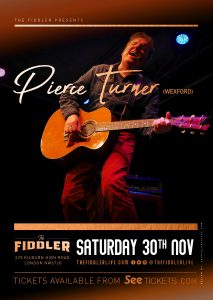 Pierce Turner LIVE at Subterania, London