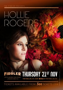 Hollie Rogers LIVE at Subterania, London