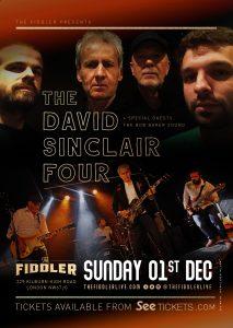 The David Sinclair Four LIVE at Subterania, London
