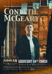 Conleth McGeary LIVE at Subterania, London