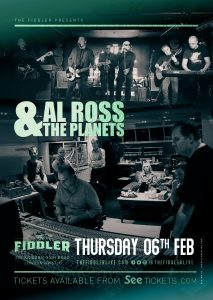 Al Ross & The Planets LIVE at Subterania, London