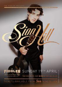 Sion Hill LIVE at Subterania, London