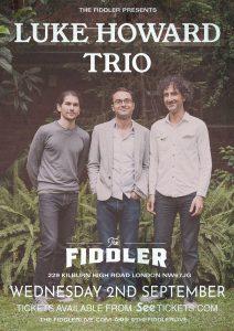 Luke Howard Trio LIVE at Subterania, London