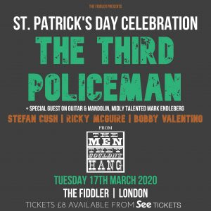 The Third Policeman… featuring Stefan Cush LIVE at Subterania, London