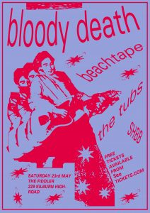 Bloody Death // Beachtape // The Tubs // SHBB LIVE at Subterania, London