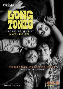 Long Tonic + special guest Nature TV LIVE at Subterania, London