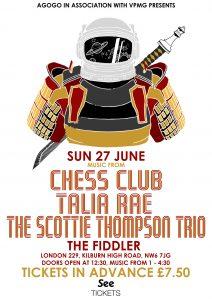 Club Agogo: Chess Club LIVE at Subterania, London