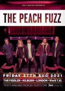 The Peach Fuzz LIVE at Subterania, London