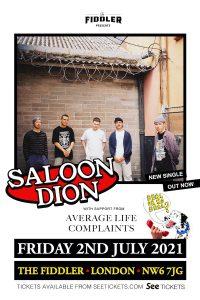 Saloon Dion LIVE at Subterania, London