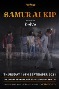 Samurai Kip LIVE at Subterania, London