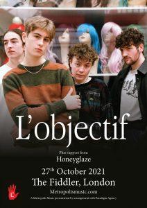 L'Objectif LIVE at Subterania, London