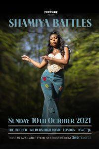 Shamiya Battles LIVE at Subterania, London