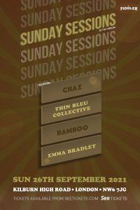 Sunday Sessions – September LIVE at Subterania, London