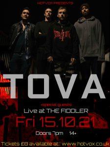 HOT VOX Presents: TOVA + Special Guests LIVE at Subterania, London